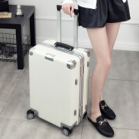 铝框拉杆箱20学生密码旅行箱男女韩版24行李箱万向轮29登机皮箱潮
