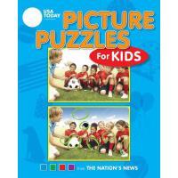 【预订】USA Today Picture Puzzles for Kids