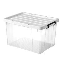 加厚透明收纳箱子塑料特大号家用衣服物玩具储物箱加厚整理收纳盒