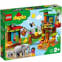 【当当自营】LEGO乐高积木得宝DUPLO系列10906 热带海岛