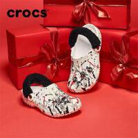 Crocs男女同款鞋卡骆驰CNY新春款牛年2021春节限定 206654 经典春节克骆格