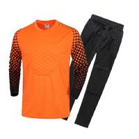 足球男守门服长袖上衣长裤守门员服球衣足球门将服龙门衫足球服