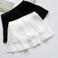 新款打底安全裤防女士外穿夏季韩版高腰蕾丝保险短裤大码裙裤 均码