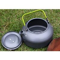 户外烧水壶野营野餐0.8L 玲珑壶咖啡壶 露营装备便携泡茶壶
