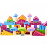 早教玩具礼大块彩炫11软体泡沫积木3-6-10周岁