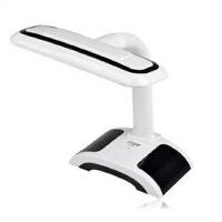 久量LED-664护眼学习阅读台灯 学生卧室床头灯 充插两用3档