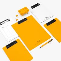 飞兹高质感A4加厚PP书写板夹写字垫板文件夹板办公用品A6383