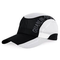 新款男士时尚户外运动棒球帽女士夏季防晒遮阳帽速干透气鸭舌帽子