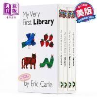 【中商原版】My Very First Library 艾瑞卡尔 经典儿童绘本四本套装 Words Color Num