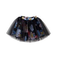 【2件5.5折到手价:57】小猪班纳女童裤裙2020春夏儿童裤子裙子假两件纯棉