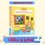 Goldilocks and the Three Bears 金发姑娘和三只熊 英文原版 first stories