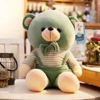 软体小熊抱枕泰迪熊毛绒玩具抱抱熊公仔小猴子小狗布娃娃猴子玩偶 绿色 小熊