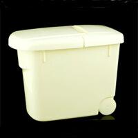 家英带盖10KG米桶-白色(A216-2)