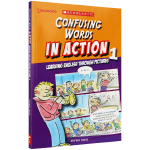 华研原版 第一册 学乐图解英语词汇辨析 英文原版 Confusing Words In Action 1 全英文版进口