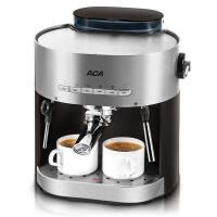 【ACA北美电器旗舰店】 AC-E15B 意式咖啡机家用 压力蒸汽可打奶泡