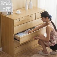 卧室实木五六斗柜床头柜收纳柜储物柜子抽屉柜斗橱衣柜 家具定制 整装