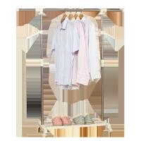 【新品特惠】阳台晾衣架落地单杆式升降不锈钢折叠晒衣架卧室凉衣架挂衣服架子 大