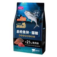 麦富迪猫粮幼猫2-12月喵喵鱼鱼块猫粮1.7kg猫主粮鱼肉猫粮