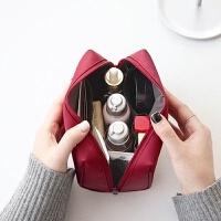 韩国化妆包小号手拿防水大容量旅行便携洗漱包简约化妆品收纳袋