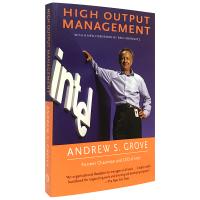 现货正版 英文原版管理书 高产出管理 High-Output Management 英文版 格鲁夫给经理人的第一课 进