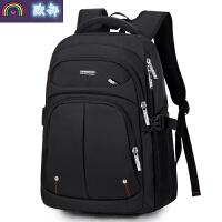 双肩包男士背包运动旅行包休闲商务电脑包简约时尚初中学生书包