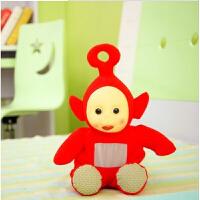 专柜天线宝宝书包 毛绒玩具 公仔 开学 儿童双肩背包 礼物 红色