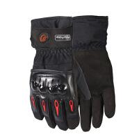 摩托车手套 冬季保暖防水手套男女滑雪手套骑行手套