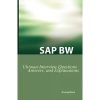 【预订】SAP Bw Ultimate Interview Questions, Answers, and Expla
