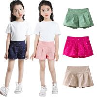 女童短裤夏季童装中大童宝宝儿童外穿薄款热裤子