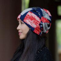 帽子女韩版潮百搭保暖包头帽英伦套头时尚潮人月子帽