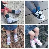 史豌豆娇妈定制 儿童高帮帆布鞋 男童女童宝宝鞋子