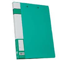 齐心A605 办公用品 轻便型A4文件夹双强力夹 活页夹 资料夹 快劳夹
