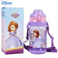 迪士尼儿童530ML塑料杯卡通透明直饮水杯小学生夏天水杯HM3239