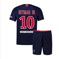 巴黎球衣17-18欧冠主场长袖10号内马尔儿童装球衣9号19号客场定制
