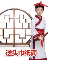 六一儿童演出服儿童古装国学服装儿童男童女童书童三字经汉服儿童