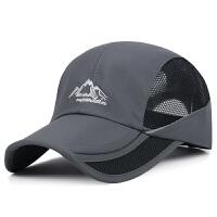 帽子新款夏季户外防晒遮阳男士休闲运动棒球帽韩版折叠女士太阳帽