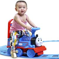 小火车玩具电动轨道滑行车儿童电瓶车婴儿学步车音乐童车玩具男孩女孩生日节日礼物