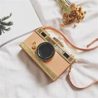 照相机包女2018新款韩版个性定型箱子包单肩斜跨小包包迷你盒子包