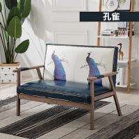 北欧沙发小户型现代简约日式沙发单人沙发椅组合服装店沙发网红款