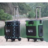 拉杆鱼箱折叠水桶鱼护桶钓箱带轮钓鱼桶加厚EVA装鱼桶活鱼桶钓鱼箱