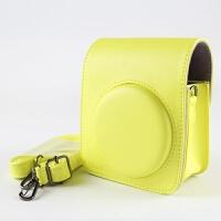 正版 富士拍立得MINI70相机包 迷你70相机相机保护套外壳皮包 荧光黄 70皮包CAIUL