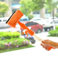 普润 可喷水窗户玻璃清洁器 清洁刮橙色