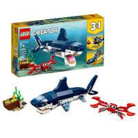 【当当自营】LEGO乐高积木创意百变组Creator系列31088 7岁+深海生物