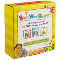 正版 关键高频词 常见字 学乐儿童英文学习家长指导25册套装 英文原版绘本 Scholastic Sight Word