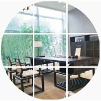 新中式老板桌实木办公桌组合复古书桌椅总裁大班台办公室家具定制