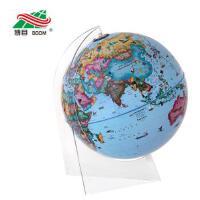 博目地球仪:30cm中英文政区少儿趣味地球仪(LED灯光型 透明三角架) 北京博目地图制品有限公司 测绘出版社9787