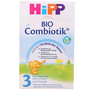 【当当海外购】德国进口Hipp BIO喜宝益生菌婴幼儿配方奶粉3段(10-12个月宝宝)600g