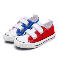 儿童春秋男童板鞋女童休闲布鞋春秋学生单鞋
