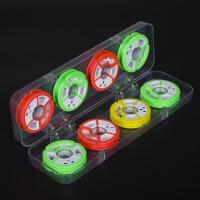 主线盒 8轴鱼线盒16轴主线盒线组渔具垂钓用品小配件绕线圈 漂盒