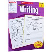美国小学一年级英语写作练习册 学乐进口英文原版英语教材 Scholastic Success with Writing
